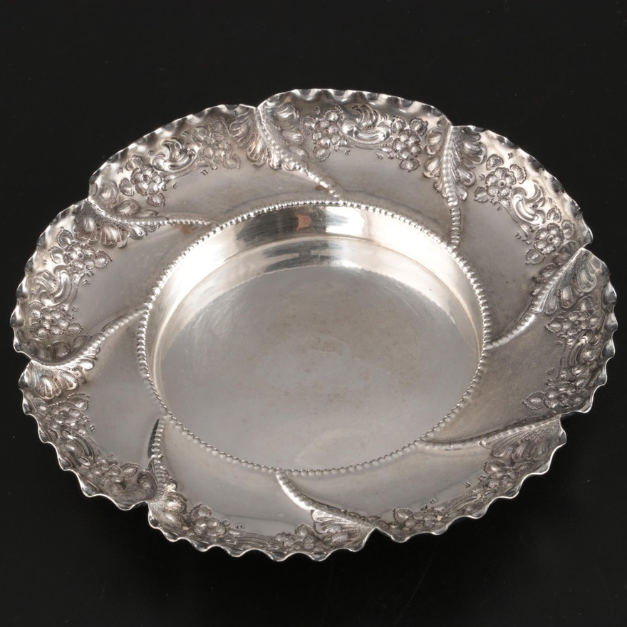 James Dixon & Sons Silver Plate Bonbon Bowl