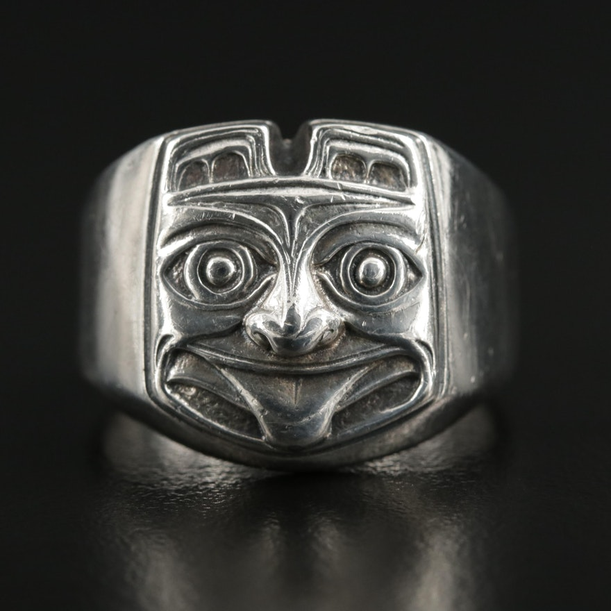 Sterling Silver Figural Ring
