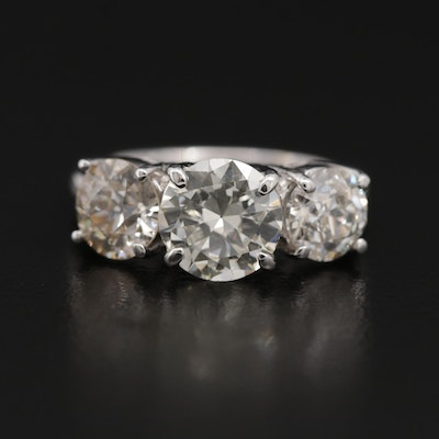 14K Gold 3.50 CTW Diamond Ring