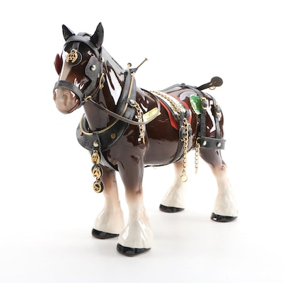 H. A. Wain Melba Ware Clydesdale Figurine
