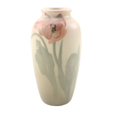 Irene Bishop Rookwood Pottery Vellum Glaze Vase, 1905
