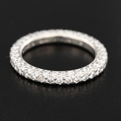 Platinum 1.90 CTW Diamond Eternity Ring