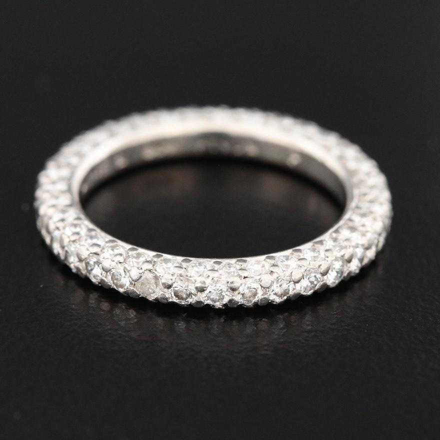 Platinum 1.90 CTW Diamond Eternity Ring