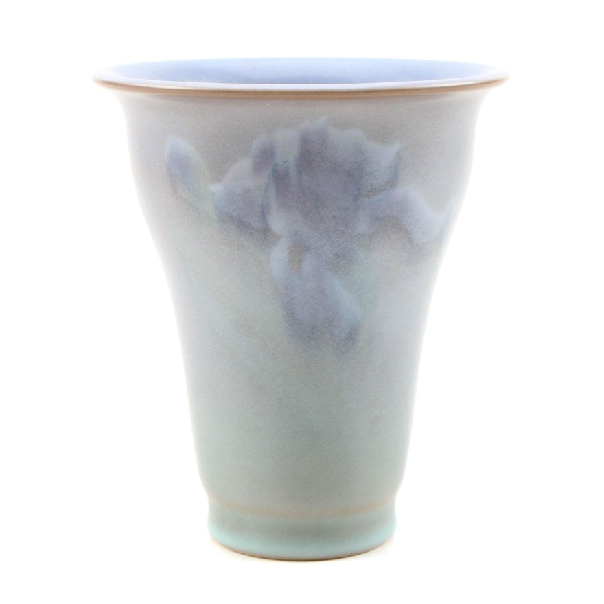 "Rookwood Pottery ""Iris"" Vellum Glazed Vase, 1930"