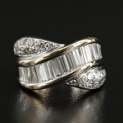 18K Yellow Gold 2.00 CTW Diamond Ring