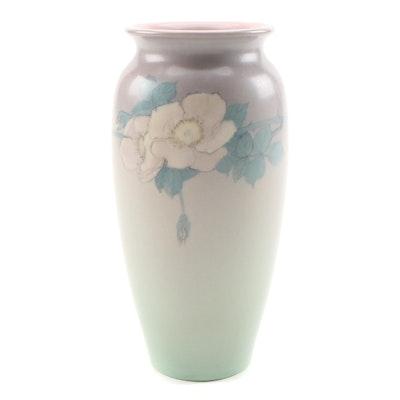 Edward George Diers Rookwood Pottery Vellum Glaze Vase, 1927