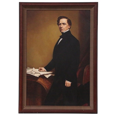 Portrait Oil Painting of President Franklin Pierce