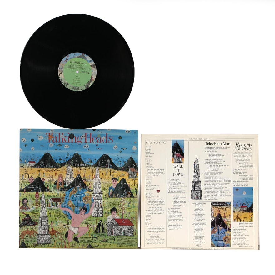 Howard Finster Designed Talking Heads Record Album
