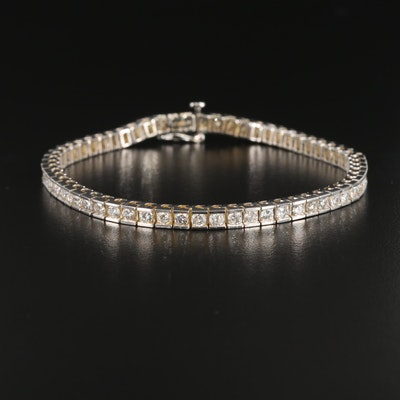 14K Gold 3.96 CTW Diamond Bracelet