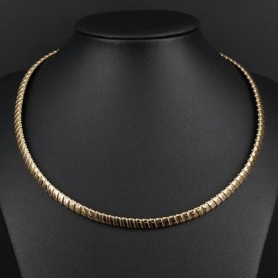 14K Gold Flex Chain Necklace