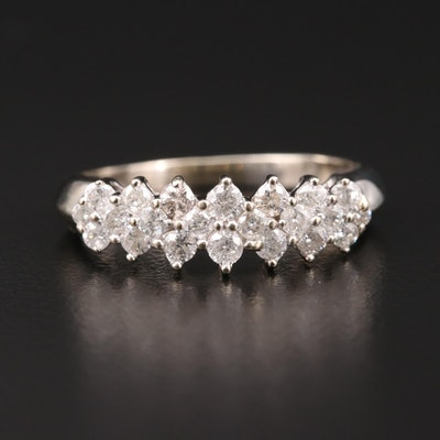 10K Gold 1.00 CTW Diamond Ring