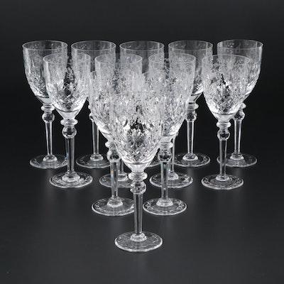 "Rogaska ""Gallia"" Lead Crystal Water Goblets, 1969 - 2015"