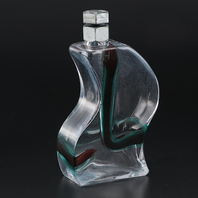 "Kjell Engman for Kosta Boda ""Macho"" Decanter, Late 20th Century"