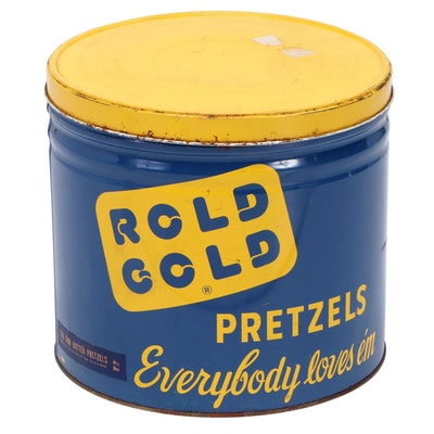 """Rold Gold Pretzels"" Tin"