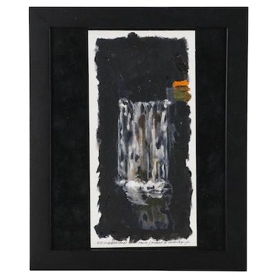 """Robert Lackney Oil Painting """"Cumberland Falls"""", 2011"""