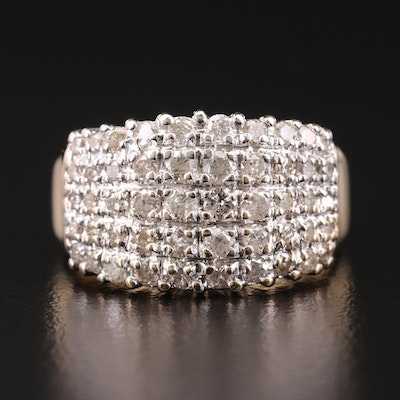 14K Gold 1.50 CTW Diamond Ring