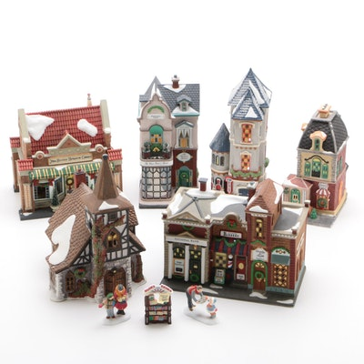 Department 56 Dickens Village, Christmas in The City Porcelain Seasonal Decor
