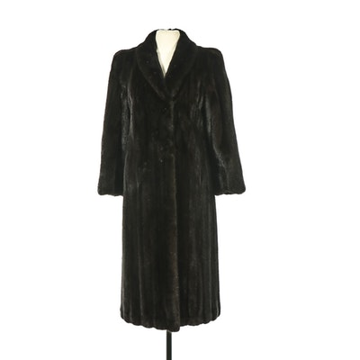 Black Diamond Mink Fur Coat from Evans Furs Salon at Lazarus