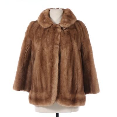 Montaldo's Mink Fur Coat, Vintage