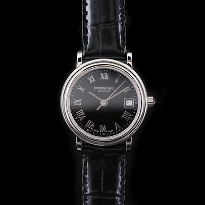 Raymond Weil Date Display Stainless Steel Wristwatch