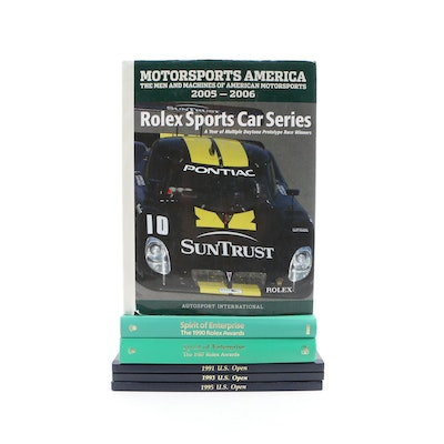 """""""Motorsports America"""" and More Rolex-Sponsored Sports Reference Books"""