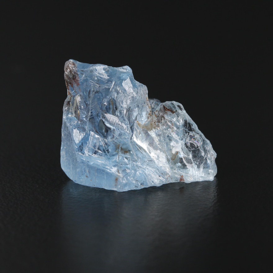 Loose 17.14 CT Rough Aquamarine