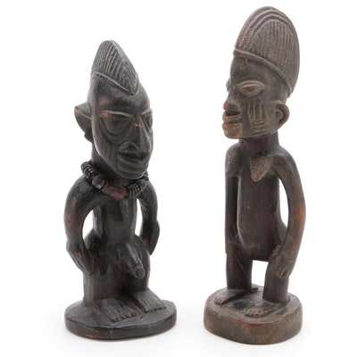 African Yoruba Style Ibeji Figures
