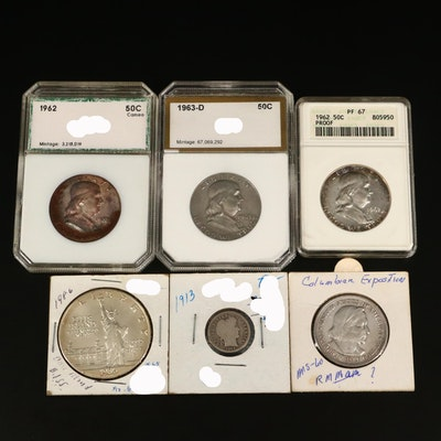 Assortment of Antique to Modern U.S. Silver Coins