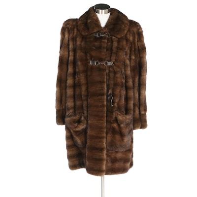 Givenchy Haute Fourrure Mink Fur Coat, Vintage