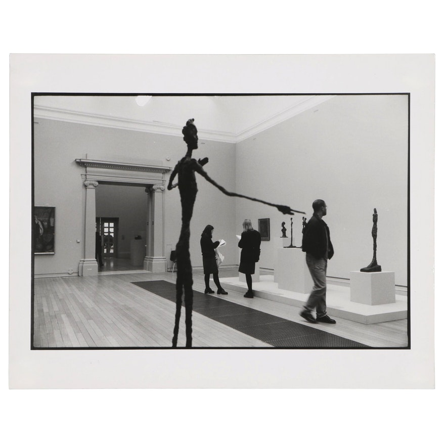 "William D. Wade Silver Gelatin Photograph ""Tate, London"""