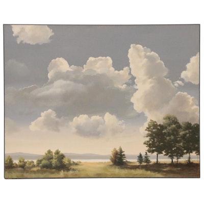 Anna Marie Schnur Landscape Oil Painting