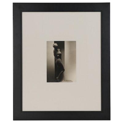 "George Hoyningen-Huene Silver Gelatin Photograph ""Suzy Solider"", 1933"