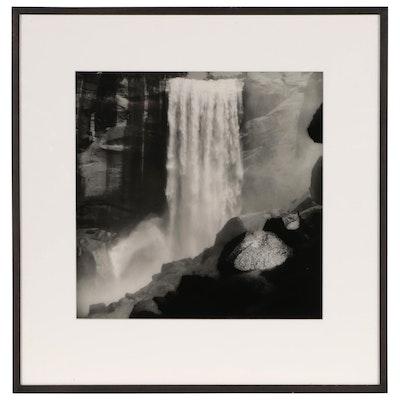"Sally Gall Silver Gelatin Photograph ""Vernal Falls"", 1993"