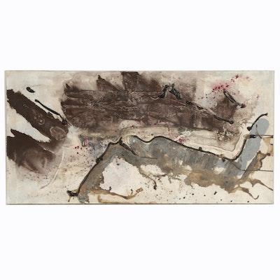 R. G. Centofanti Abstract Mixed Media Painting