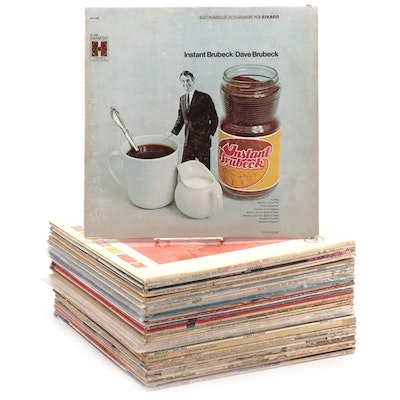 Jazz, Motown, and Pop Vinyl Records Including Dave Clark Five and Dave Brubeck