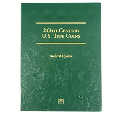 Littleton Binder of 20th Century U.S. Type Coins