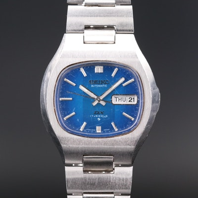 Vintage Seiko DX Stainless Steel Automatic Wristwatch