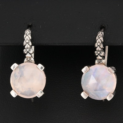 Stephen Dweck Sterling Quartz Drop Earrings