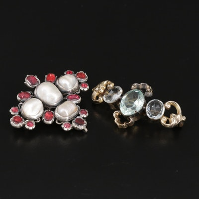 Antique Brooch Set