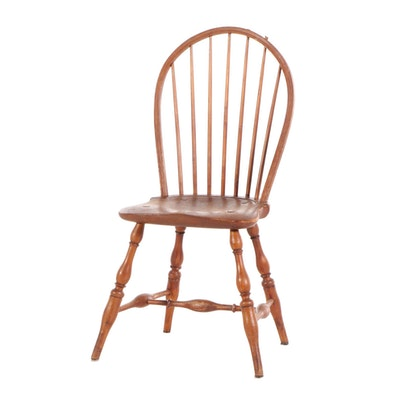 Sack-Back Windsor Side Chair, Early 19th Century