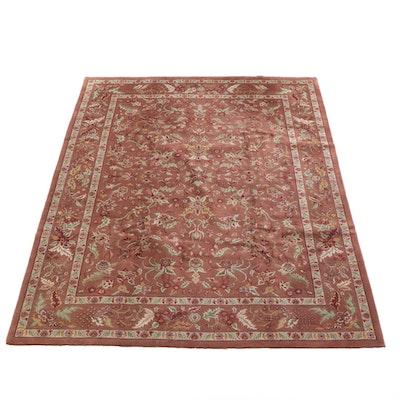 9'2 x 12'0 Hand-Knotted Persian Tabriz Wool Rug