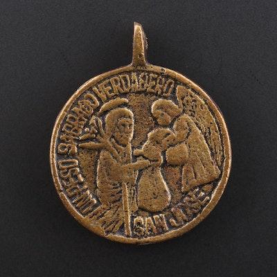 "Philippine ""Sacred Peso"" Religious Medal"