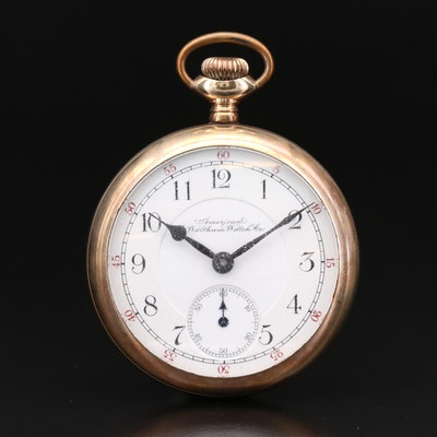 American Waltham Watch Co. Gold Filled Pocket Watch, Circa 1900
