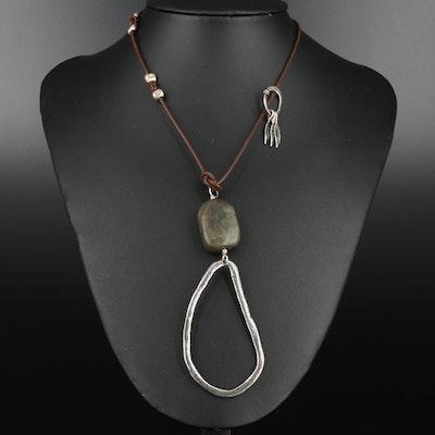Silpada Sterling Silver Serpentine Necklace