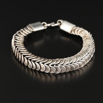 Bali Tulang Naga Sterling Silver Bracelet