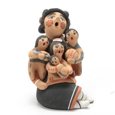 Bonnie Fragua Earthenware Storyteller Figurine