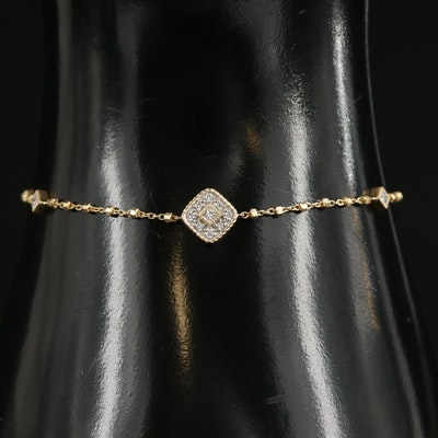 Alor 18K Yellow Gold Diamond Bracelet
