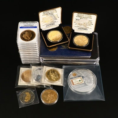 American Mint Commemorative/Replica Coins and Presidential Token Sets