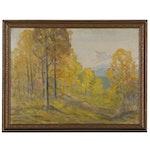 David Stirling Landscape Oil Painting