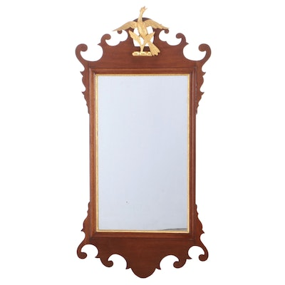 Chippendale Style Mahogany Mirror, Late 19th/ Early 20th Century